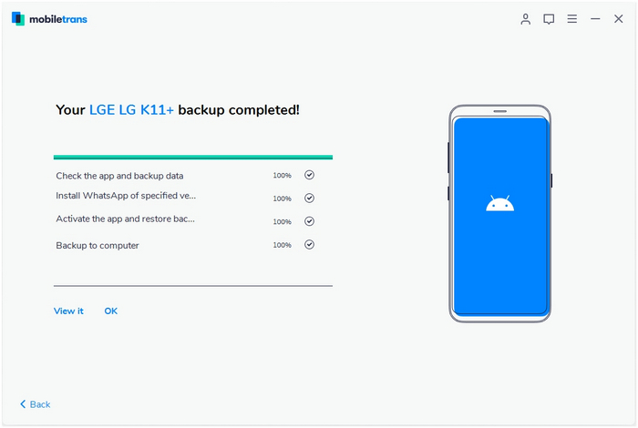 whatsapp backup to android
